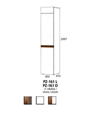 PZ-161 (L/D) visoki element - 1 vrata PRIZMA
