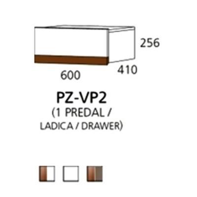 PZ-VP2 viseći element - 1 ladica PRIZMA