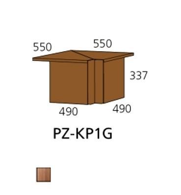 PZ-KP1G kutna ploča PRIZMA
