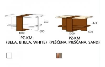 PZ-KM klupski stol PRIZMA