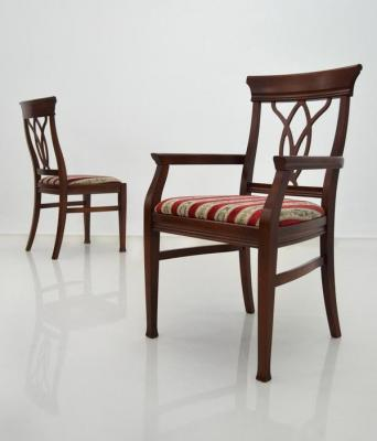KAMELIJA drvena stolica MAH