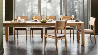 CLASSIC 2H 180(+2x40)x90 drveni stol SPI